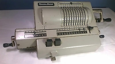 Original Odhner,Mechanical Calculator,Vintage Adding Machine,Made in Sweden