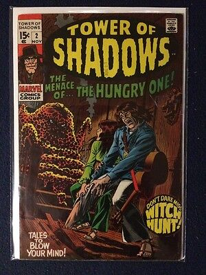Tower of Shadows # 2 Marvel Comics Cents copy 1969 FN