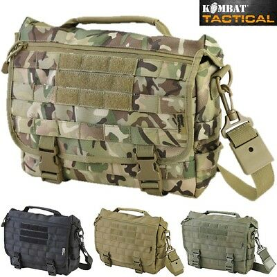 Military Messenger 10 Litre Bag Shoulder Laptop Molle Tactical Bag Mtp Btp Camo