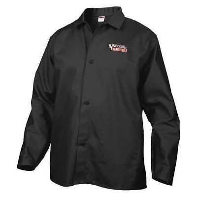LINCOLN ELECTRIC KH808L Welding Jacket,Black,L,33 in. L G4445747