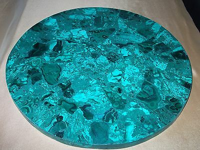 round malachite top [ 14 1/4'' ]