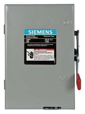 Siemens 30 Amp 120/240VAC Single Throw Safety Switch 1P, LF111N
