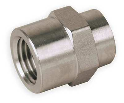 PARKER 4-2 FHC-S, Female Hex Coupling, 1/4 x 1/8 In
