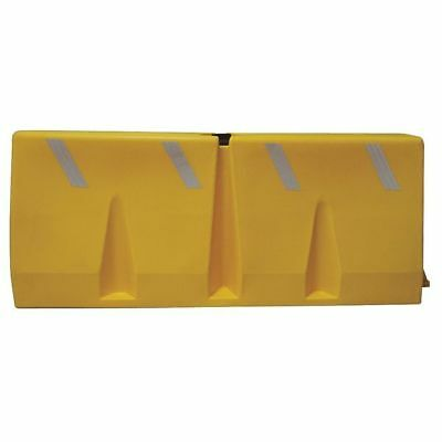 ZORO SELECT TB-5-14 Polycade Traffic Barrier,24-1/2inH