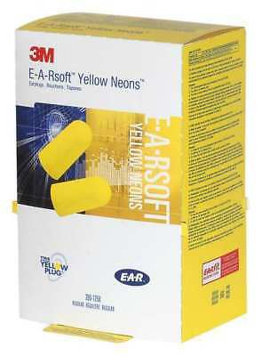 3M 390-1250 E-A-Rsoft™ Uncorded Ear Plugs, 33dB Rated, Tapered Shape, PK 500