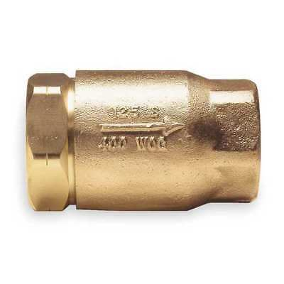 APOLLO 6110201 Ball Cone Spring Check Valve,Bronze,3/8 G1086242
