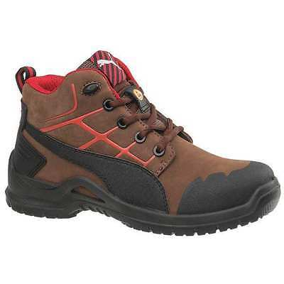 Size 11 Work Boots, Women's, Brown, Composite Toe, C, Puma Safety