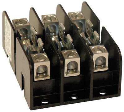 MERSEN 30308T Fuse Holder, 30A AC, 300V, 3 Pole, Molded