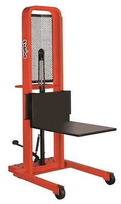 PRESTO LIFTS M152 Stacker,Foot Operated,w/Platform G1830906