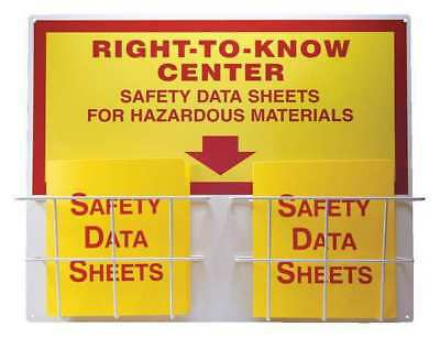 Right-To-Know Center,English,24 in. H ACCUFORM ZRS335