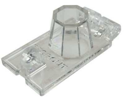 Toggle Switch Lockout,Clear,3-1/2in.L STOPOUT KDD142