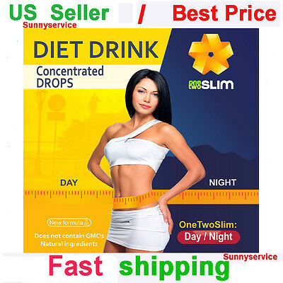 One Two Slim / USA / For Weight Loss & Diet Supplement Fat Burner Drink Drops