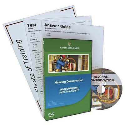 Training DVD,Hearing Conservation,22 min CONVERGENCE TRAINING C-802