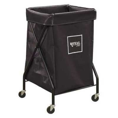 X-Frame Cart,6.7 cu. ft.,Black,Vinyl ROYAL BASKET TRUCK G06-KKX-XFA-3ONN