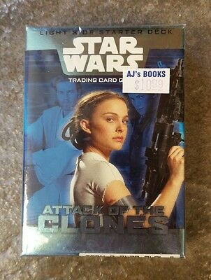 Star Wars Episode 2 Attack of the Clones Light Side Starter Deck