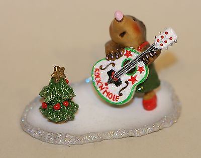 Wee Forest Folk Stand by your Mole FairyTales Special MMO-1b Rock N' Mole Guitar