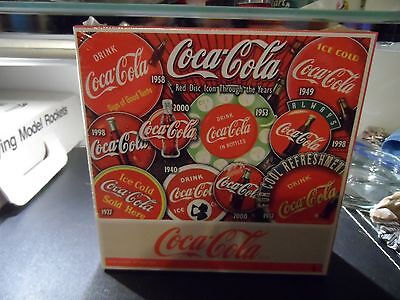 Coca-Cola 1000 Piece Jigsaw Puzzle, Red Disc Icon Through The Years, NIB!