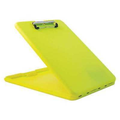 SAUNDERS 00573 Portable Storage Clipboard,Yellow G3780850