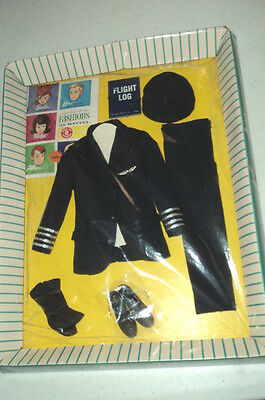 #0779 American Airlines Captain Ken Outfit Minty On Original Card - Rare Find ~