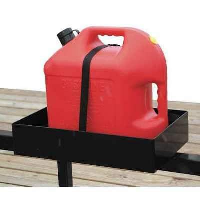 Rack, Gas Can, For Use With Open And Enclosed Trailers, Includes Secure Strap