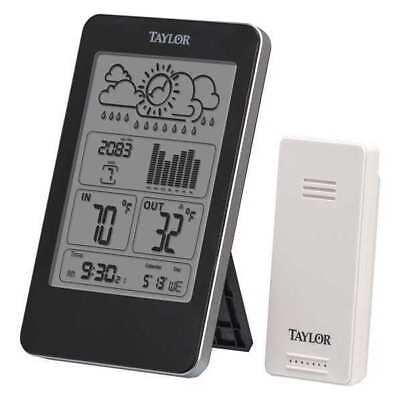 TAYLOR 1733 Wireless In/Out Thermometer w/Barometer G4017085