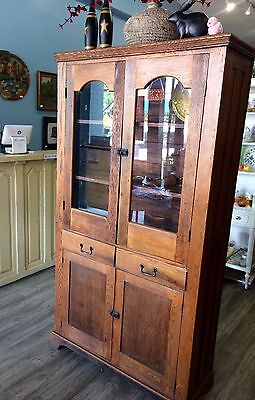 Antique Primitive Cupboard Cabinet