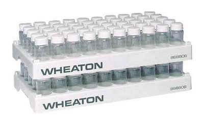 WHEATON 868806 Vial Rack, Holds 50, PK 5