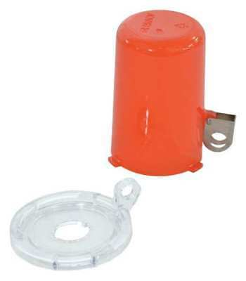 BRADY 130819 Push Button Lockout, 16mm, Plastic