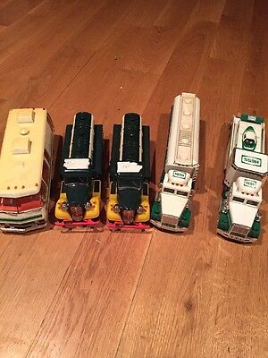 Vintage hess toy gasoline truck Lot