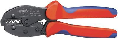 Knipex 20-7 AWG Knipex PreciForce Crimping Pliers, Plastic Grips, 97 52 33