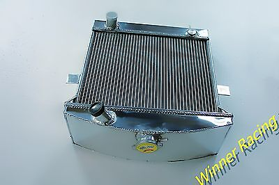 "3"" Aluminum Alloy Radiator Fit JAGUAR C-TYPE 1951-1953 1952 Base 3.4L 3 ROW CORE"