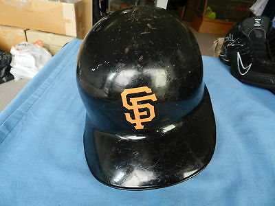 Mike LaCoss circa 1989 San Francisco Giants game used helmet
