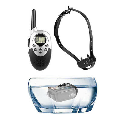 Electric E-Collar Pet Dog Shock Training Collar Rechargeable Remote Waterproof