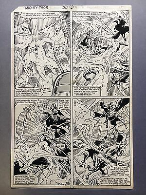 Mighty Thor #312, pg.28 Oct. '91, interior page, original art by Keith Pollard