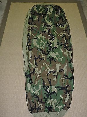 C Military Bivy Cover Woodland For Modular Sleep System Us Army