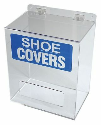 Shoe/Boot Cover Dispenser,Acrylic,Clear G8566887