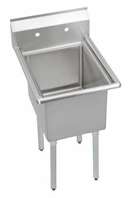 ELKAY E1C24X24-0X Scullery Sink,Without Faucet,29 In. L