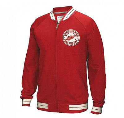 CCM Full Zip Jacket Detroit Red Wings