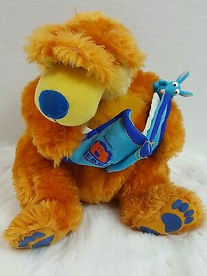bear in the big blue house talking & moving stuffed animal plushie