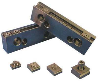 MITEE-BITE PRODUCTS INC 32068 Steel Jaw Set,Vise Jaws,8in,PK2