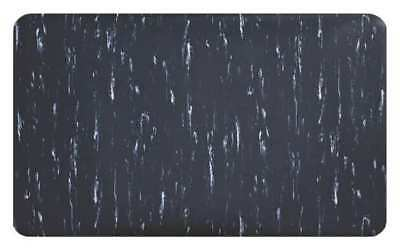 CONDOR 3906309083X60 Antifatigue Mat, Blk/Wht, 60ftLx3ftW, 1/2in