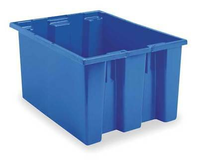 Nest and Stack Container, 23-1/2 in, Blue AKRO-MILS 35230BLUE