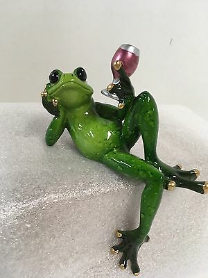 Frog Shelf Sitter By Gantz 7 x 5""