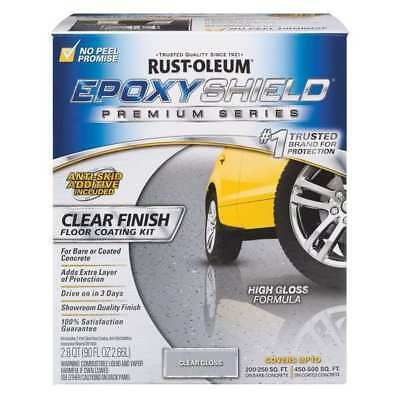 RUST-OLEUM 292514 Floor Coating Kit,1 gal.,Epoxy,Clear G6123577