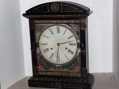 "Rare Antique Jerome ""warwick"" Chime Mantel Clock 8 Day Working New Haven Conn"