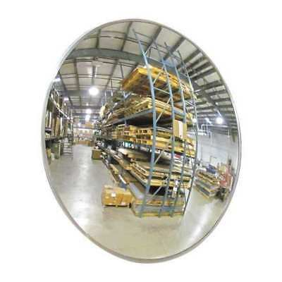 Indoor Convex Mirror,26Dia,Polycarbonate ZORO SELECT 2GVT2