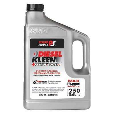 POWER SERVICE PRODUCTS 03080-06 Diesel Fuel Additive,Amber,80 oz. G5573191
