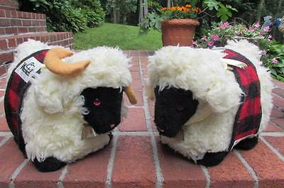 VINTAGE WOOLRICH PLUSH STORE PROMOTIONAL SHEEP from Sebago Maine 1960s VERY RARE