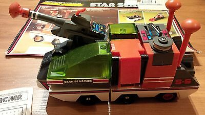 VINTAGE MEGO MICRONAUTS STAR SEARCHER VEHICLE W/ INSTRUCTION SHEET 100% complete