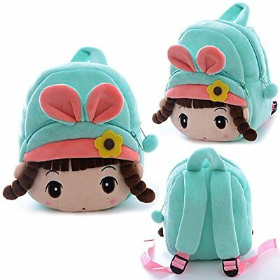 Kids Girls Backpack School Angela Girl Cartoon Plush Soft Shoulder Bag Toddler
